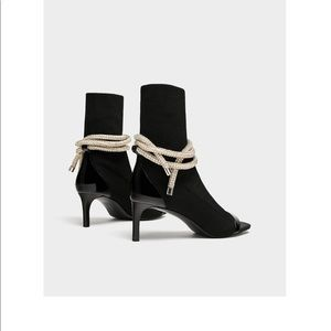 Zara ankle boots rare new